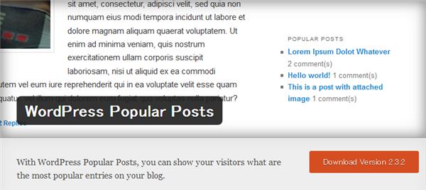 WordPress Popular Postsでデータが登録されない事象の顛末