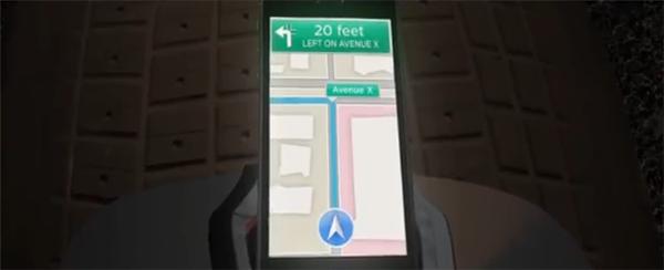 もしバットマンがアップルの地図をナビに使っていたら