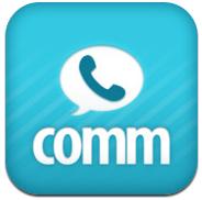 DeNAのiPhoneアプリcommが無料で音声通話するのによさそう