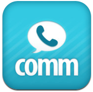iPhoneアプリcomm