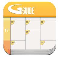 Gガイド テレビ番組表:見たいテレビ番組を簡単にカレンダーに登録して通知してくれるお役立ちアプリ。無料。