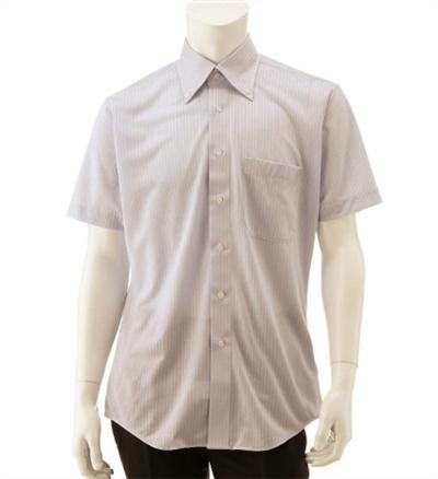 ベルメゾンのクールビズ向けノーアイロン速乾ニットシャツがアイロンいらずでさらさら伸び生地で良い感じ