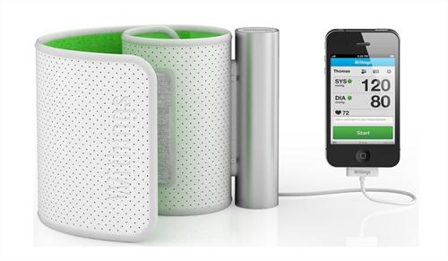 iPhoneやiPadと連携して血圧を測定・管理できるアイテム『Blood Pressure Monitor』がすごい