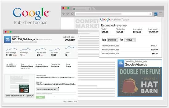 【Chrome拡張機能】AdSenseの状況を手軽にチェックできるGoogle Publisher Toolbarがバージョンアップ