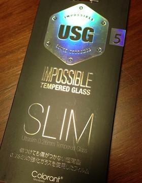 買っててよかったiPhone保護シートUSG ITG Slim。液晶がヒビ割れた!と思ったけどシート止まりでした