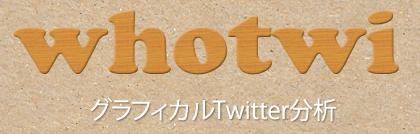 【whotwi】ツイッターの片思い両思いを調べてフォロワー整理に役立つ便利サービス