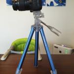 【購入レビュー】Fotopro C-3i。カメラ女子に絶賛されたオシャレでカラフルな三脚を買ってみた