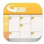 【iPhoneアプリ】テレビ番組表の定番『Gガイド』がリニューアルしてた