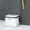 自宅の玄関に簡単に設置できる宅配ボックスが6,980円でサンワサプライから発売!