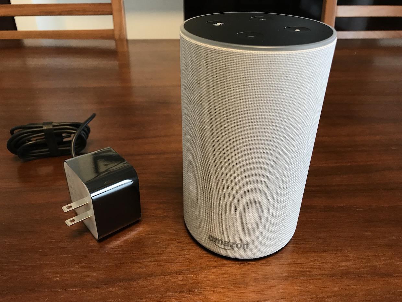 なんやかんやいってAmazon Echo買いましたので開梱