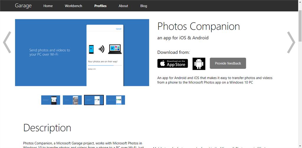 Photos Companioを使うためにPC側でQRコードを表示する方法
